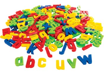 magnetic lower case ridged letters pack of 200 magnetic letters words